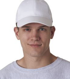 8110 UltraClub® Classic Cut Brushed Cotton Twill Constructed Cap