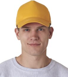 8120 UltraClub® Classic Cut Cotton Twill Cap