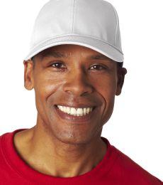 8121 UltraClub® Adult Classic Cut Cotton Twill Cap