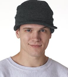 8133 UltraClub® Acrylic Knit Beanie with Lid