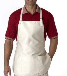 8205 UltraClub® Three-Pocket Blend Apron with Buckle