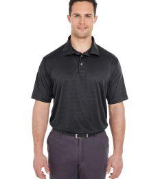8220 UltraClub Men's Cool & Dry Jacquard Stripe Polo