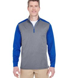 8232 UltraClub® Adult Cool & Dry Sport 2-Tone 1/4-Zip Pullover