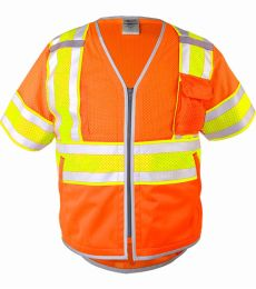 ML Kishigo 1573-1574 Premium Brilliant Series Ultimate Reflective Class 3 Vest