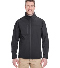 8280 UltraClub® Adult Polyester Soft Shell Jacket with Cadet Collar