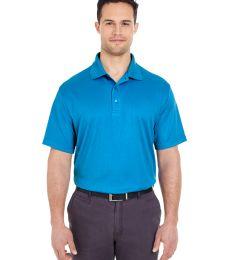 8305 UltraClub® Adult Cool & Dry Elite Mini-Check Jacquard Performance Polo