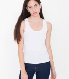 American Apparel 8308W Ladies' Cotton Spandex Tank Top
