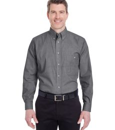 8340 UltraClub® Men's Wrinkle-Free End-on-End Blend Woven Shirt