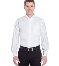 8380 UltraClub® Men's Non-Iron Cotton Pinpoint Woven Shirt
