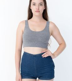 8384 American Apparel Cotton Spandex Crop Tank