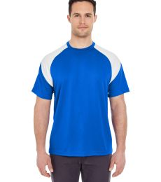 8399 UltraClub® Adult Cool & Dry Sport Color Block Performance Tee