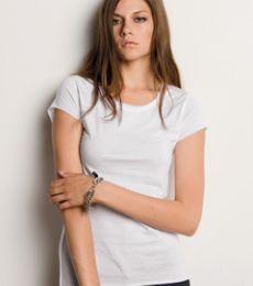 8401 Bella Ladies' 3.2 oz. Natasha Inside-Out T-Shirt