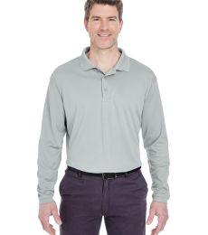 8405LS UltraClub® Adult Cool & Dry Sport Long-Sleeve Mesh Performance Polo