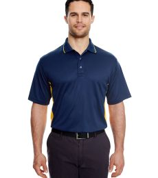 8406 UltraClub® Adult Cool & Dry Sport Two-Tone Mesh Performance Polo