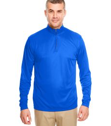 UltraClub 8424 Men's Cool & Dry Sport Performance Interlock Quarter-Zip Pullover