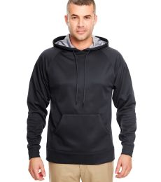 8441 UltraClub® Adult Cool & Dry Elite Sport Hooded Performance Fleece
