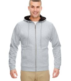 8463 UltraClub® Adult Rugged Wear Thermal-Lined Full-Zip Jacket