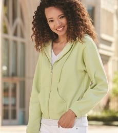 1598 Comfort Colors - Pigment-Dyed Ladies' Full-Zip Hooded Sweatshirt