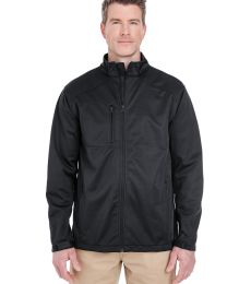 8477 UltraClub® Adult Blend Soft Shell Solid Jacket