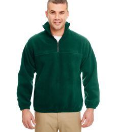 8480 Adult UltraClub® Polyester Iceberg Fleece 1/4-Zip Pullover