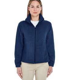 8481 UltraClub® Polyester Ladies' Iceberg Fleece Full-Zip Jacket