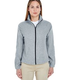 8481 UltraClub® Polyester Ladies' Iceberg Fleece Full-Zip Jacket
