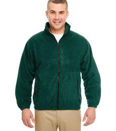 8485 UltraClub® Polyester Adult Iceberg Fleece Full-Zip Jacket