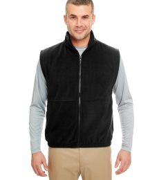8486 Adult UltraClub® Polyester Iceberg Fleece Full-Zip Vest