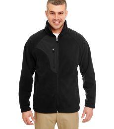 8495 UltraClub® Adult Full-Zip Polyester Micro-Fleece Jacket With Pocket