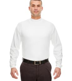 8510 UltraClub® Adult Egyptian Interlock Cotton Long-Sleeve Mock Turtleneck
