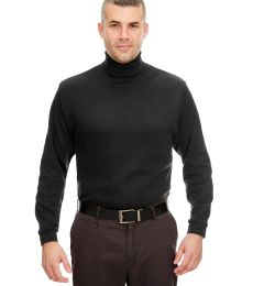 8516 UltraClub® Adult Egyptian Interlock Cotton Long-Sleeve Turtleneck