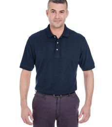 8535T UltraClub® Adult Tall Classic Pique Cotton Polo