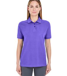8541 UltraClub® Ladies' Whisper Pique Blend Polo