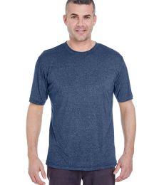 UltraClub 8619 Men's Cool & Dry Heathered Performance T-Shirt