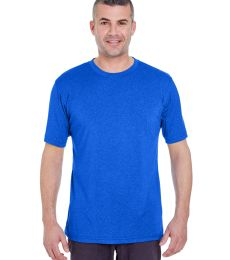 UltraClub 8619 Men's Cool & Dry Heathered Performance T-Shirt