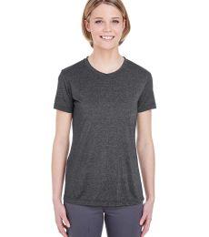 UltraClub 8619L Ladies' Cool & Dry Heathered Performance T-Shirt