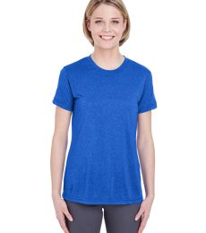 UltraClub 8619L Ladies' Cool & Dry Heathered Performance T-Shirt
