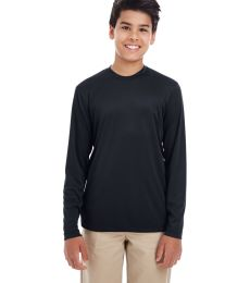 UltraClub 8622Y Youth Cool & Dry Performance Long-Sleeve Top