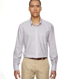 North End 87043 Men's Paramount Wrinkle-Resistant Cotton Blend Twill Checkered Shirt