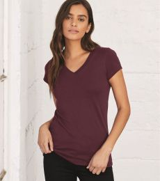 BELLA 6005 Womens V-Neck T-shirt