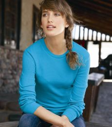 J America 8234 Ladies' Cortney Long Sleeve Thermal T-Shirt