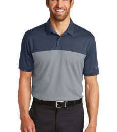 232 881655 Nike Golf Dri-FIT Colorblock Micro Pique Polo