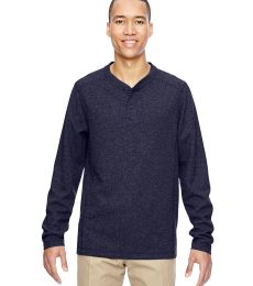 North End 88221 Men's Excursion Nomad Performance Waffle Henley