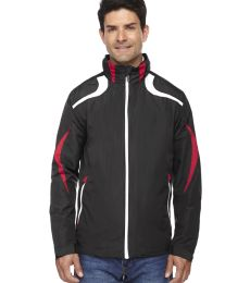 88644 Ash City - North End Sport Red Men's Impact Active Lite Colorblock Jacket