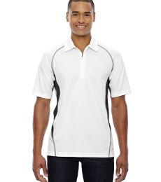 88657 Ash City - North End Sport Red Men's Serac UTK cool.logik™ Performance Zippered Polo