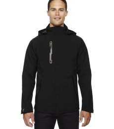88665 Ash City - North End Sport Red Men's Axis Soft Shell Jacket with Print Graphic Accents