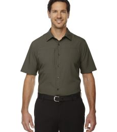 88675 Ash City - North End Sport Red Men's Charge Recycled Polyester Performance Short-Sleeve Shirt