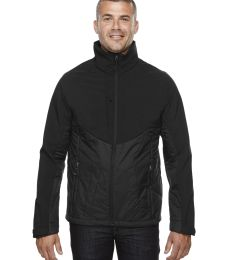 88679 Ash City - North End Sport Red Men's Innovate Insulated Hybrid Soft Shell Jacket