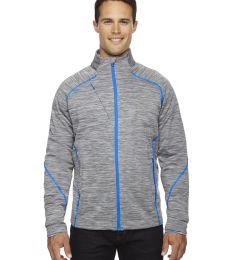 88697 Ash City - North End Sport Red Men's Flux Mélange Bonded Fleece Jacket