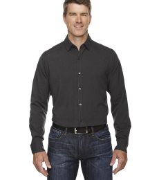 88802 Ash City - North End Sport Blue Men's Central Ave Mélange Performance Shirt